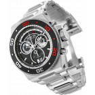 Invicta Akula Platinum Select Swiss Made Крупные Мужские Часы Хронограф - 26047