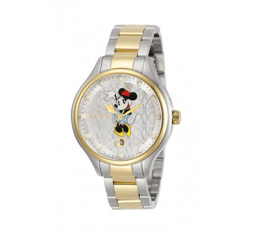 Invicta Angel Disney Minnie Mouse Двухцветные Часы Женские 38мм - 30687