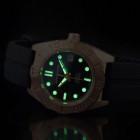 Aragon Hercules MD Bronze Бронзовые Мужские Часы Механические 43мм