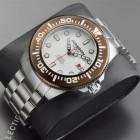 Aragon Divemaster II Коричневый Безель Механические Часы Мужские 50мм