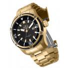 Invicta Bolt Полностью Золотистые Большие Мужские Часы 52мм - 29809