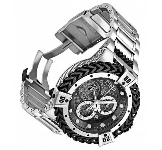 Invicta Reserve Bolt Hercules Часы на Браслете с Чёрными Цепями 53 мм - 30541