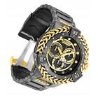 Invicta Reserve Bolt Hercules Большие Чёрные Часы с Золотыми Цепями - 30546
