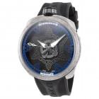 Bomberg Bolt-68 Швейцарские Мужские Механические Часы с Синим Узором 45мм