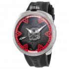 Bomberg Bolt-68 Швейцарские Мужские Часы Механика с Красным Узором 45мм