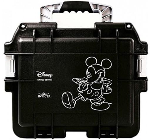 Инвикта Противоударный Дайв Бокс Кейс 3 Слота Чёрный Disney Mickey Mouse