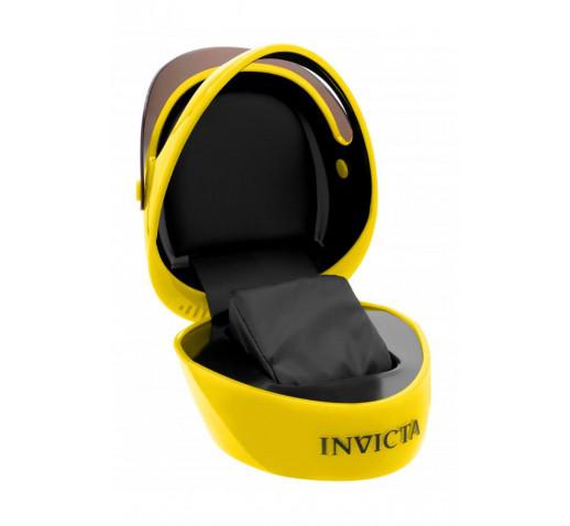 Invicta S1 Rally Коробка в Виде Шлема для 1 Часов Жёлтая