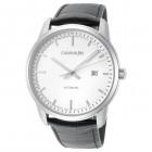 Calvin Klein Infinite Кожаный Ремешок Механические Часы Мужские 42мм