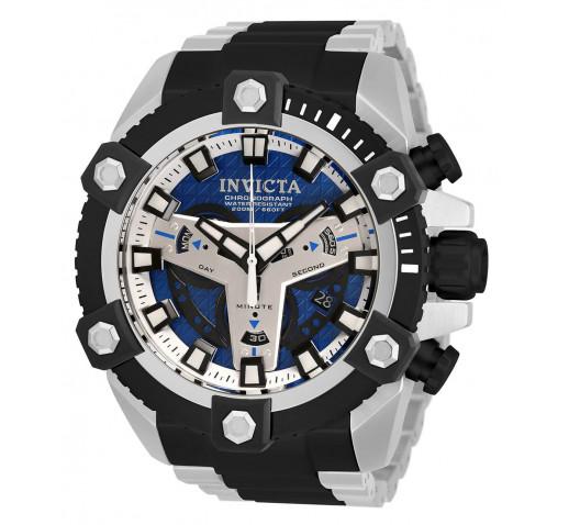 Invicta Coalition Forces Чёрные и Серебристые Большие Часы 56мм - 30906