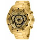 Invicta Excursion Полностью Золотого Цвета Мужские Часы Большие - 24263