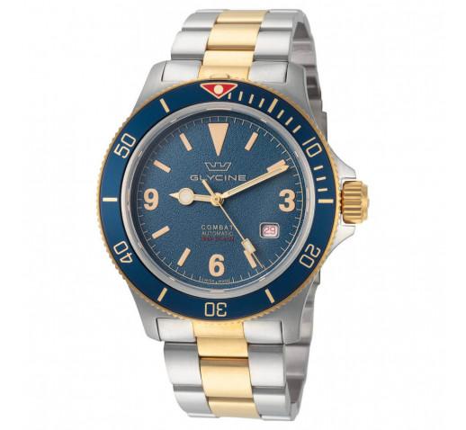 Glycine Combat Sub Vintage Механические Швейцарские Мужские Часы -  GL0262