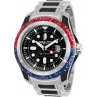 Invicta Hydromax GMT Стальные Часы с Силиконовыми Вставками Мужские - 29581