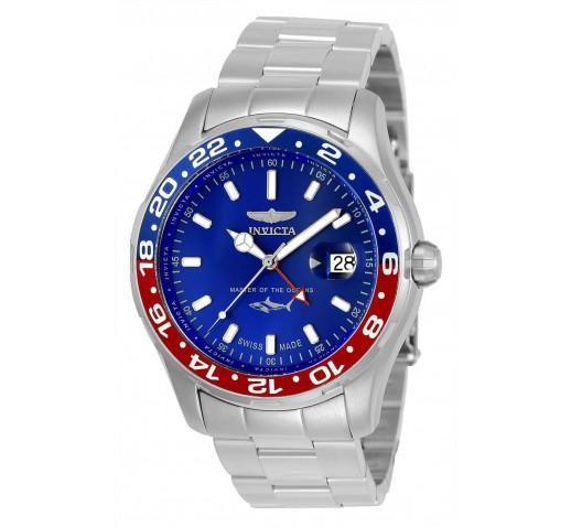 Invicta Pro Diver Swiss Made GMT Мужские Часы Дайверы 44мм - 25820