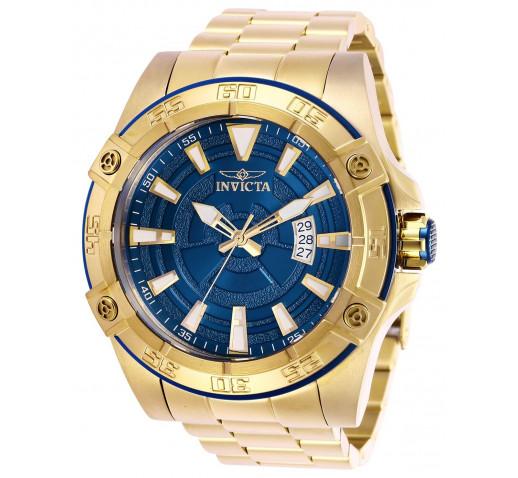 Invicta Pro Diver Полностью Золотистые Механические Часы 52 мм - 27011