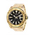 Invicta Pro Diver Большие Часы Полностью Золотого Цвета Мужские 52мм - 27012