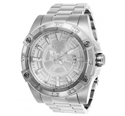 Invicta Pro Diver Большие Механические Мужские Серебристые Часы - 27014