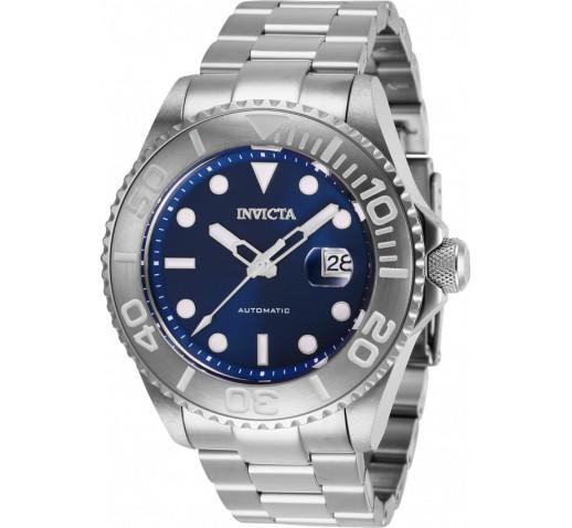 Invicta Pro Diver Полностью Серебристого Цвета Механические Часы - 27305