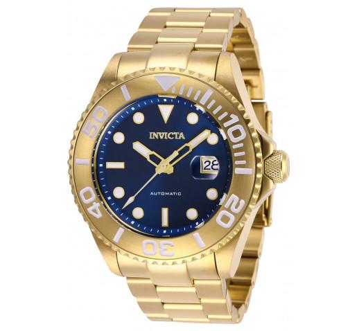 Invicta Pro Diver Полностью Золотые Часы Механические для Мужчин - 27307