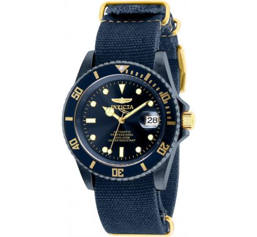 Invicta Pro Diver Синего Цвета Нато Ремешок Механические Часы - 27631