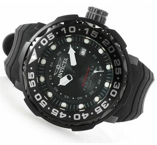 Invicta Pro Diver Sea Monster Черные Мужские Часы Крупные - 28788