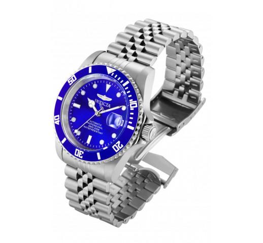 Invicta Pro Diver Синий Циферблат Механические Часы Мужские 42мм - 29179