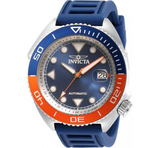 Invicta Pro Diver Sea Wolf Синий Ремешок Механические Часы 47мм - 30424