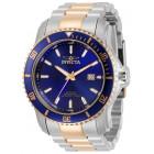 Invicta Pro Diver Scuba Сталь и Розовое Золото Часы Механические 49мм - 30560