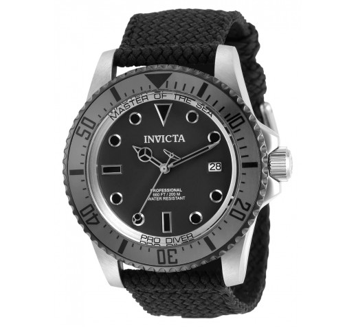 Invicta Pro Diver Чёрный Ремешок Механические Часы Мужские 44мм - 31485