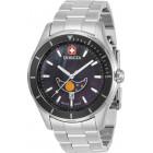 Invicta Pro Diver Swiss Made Мужские Часы с Фазой Луны Кварцевые 44мм - 33462