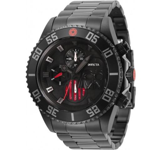 Invicta Pro Diver Star Wars Darth Vader Чёрные Часы Мужские 47мм - 34624
