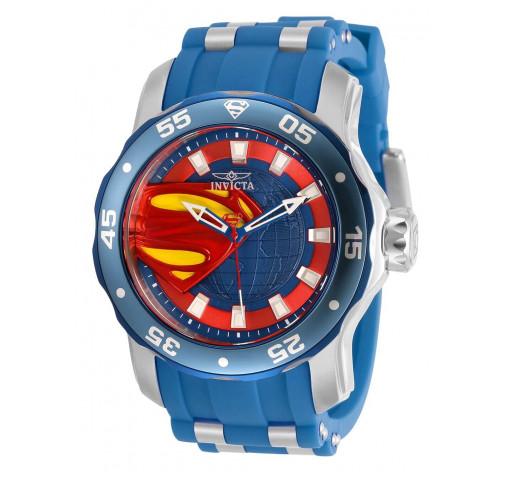 Invicta Pro Diver Scuba DC Comics Superman Часы Мужские 48мм - 34745
