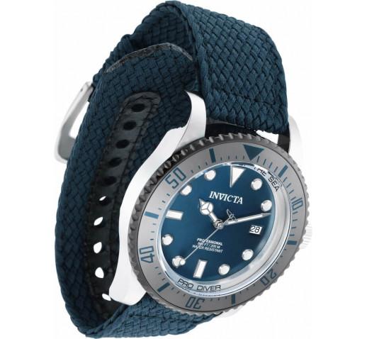 Invicta Pro Diver Тёмно-Синий Ремешок Механические Часы Мужские 44мм - 35487