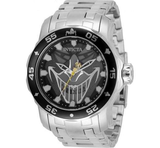 Invicta Pro Diver Scuba DC Comics Joker Кварцевые Часы Мужские 48мм - 35615