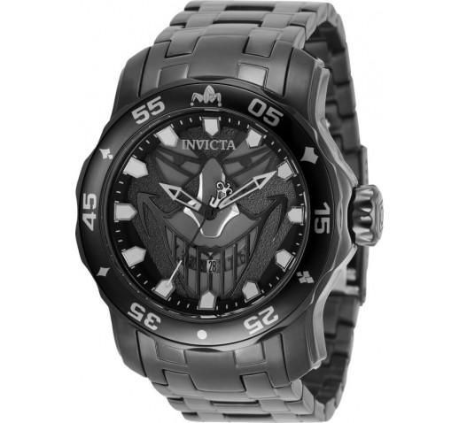 Invicta Pro Diver Scuba DC Comics Joker Чёрные Часы Мужские 48мм - 35616