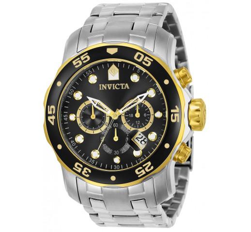 Invicta Pro Diver Scuba Дайверские Часы Хронограф Мужские 48мм - 80039