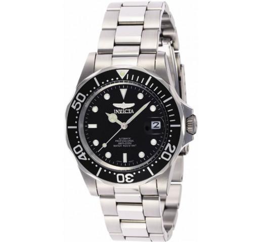 Invicta Pro Diver Мужские Часы Механические 40мм Чёрный Циферблат - 8926