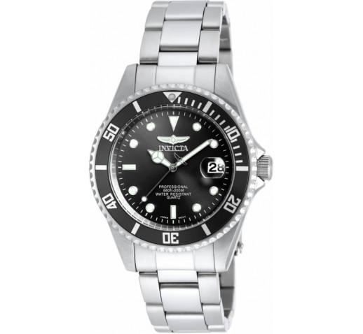Invicta Pro Diver Небольшие Мужские Кварцевые Часы 37.5мм - 8932OB