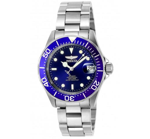 Invicta Pro Diver Мужские Часы Механические 40мм с Синим Циферблатом - 9094