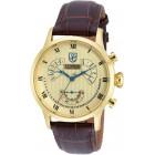 S. Coifman Золотистые Мужские Часы с Вечным Календарём 40мм - SC0351
