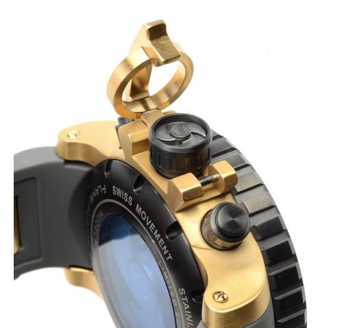 Invicta Sea Hunter Jason Taylor Большие Черные Часы Мужские 58 мм - 23719