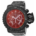 Invicta Sea Hunter Полностью Черные Часы с Окрашенным Стеклом - 26326