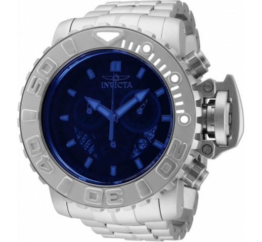Invicta Sea Hunter Большие Мужские Часы с Крашеным Стеклом 58мм - 32642