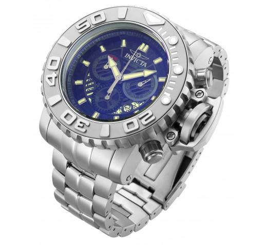 Invicta Sea Hunter Большие Мужские Часы с Крашеным Стеклом 58мм - 32643