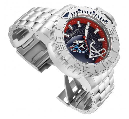 Invicta Sea Hunter NFL Tennessee Titans Мужские Механические Часы 58мм - 33043