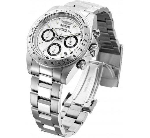 Invicta Speedway Серебристые Кварцевые Часы для Мужчин и Женщин - 9211