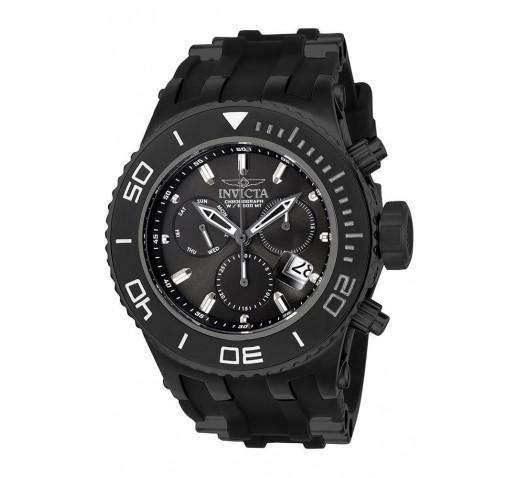 Invicta Subaqua Specialty Полностью Черные Часы Мужские Спортивные - 22367