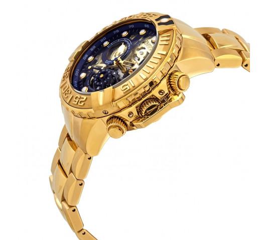 Invicta Subaqua Noma II Скелетон Золотые Мужские Часы 47 мм - 24772
