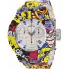 Invicta Subaqua Specialty Graffitti Яркие Большие Мужские Часы 52мм - 33972