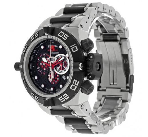 Invicta Subaqua Noma IV Черные и Серебряные Спортивные Часы - 6550