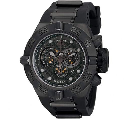 Invicta Subaqua Noma IV Полностью Черные Спортивные Часы - 6582